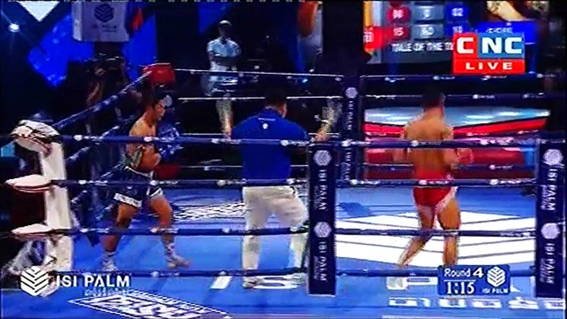 Tes Ghyva, Cambodia Vs Tounpe, Thailand, 23 September 2018, International Boxing, Khmer Boxing
