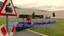 Dampflokomotive LAG 64 auf der Parkeisenbahn bzw. Gartenbahn im Hans-Peter Porsche Traumwerk - Ein Video von Pennula zum Thema Modelleisenbahn und Modellbahn