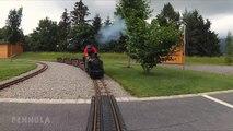 Volldampf Voraus - Eine Kamerafahrt mit der Dampflok im Traumwerk Porsche - Ein Video von Pennula zum Thema Modelleisenbahn und Modellbahn