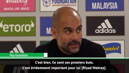 Pep Guardiola : « Mahrez mérite de jouer plus »