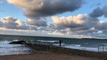 Saint-Malo. Des couleurs et un kite-surf pour terminer le week-end