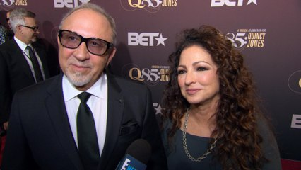 Gloria Estefan Reveals Quincy Jones Is Her Daughter's Godfather