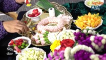 How To Make Thai Flower Garlands (Phuang Malai พวงมาลัย)