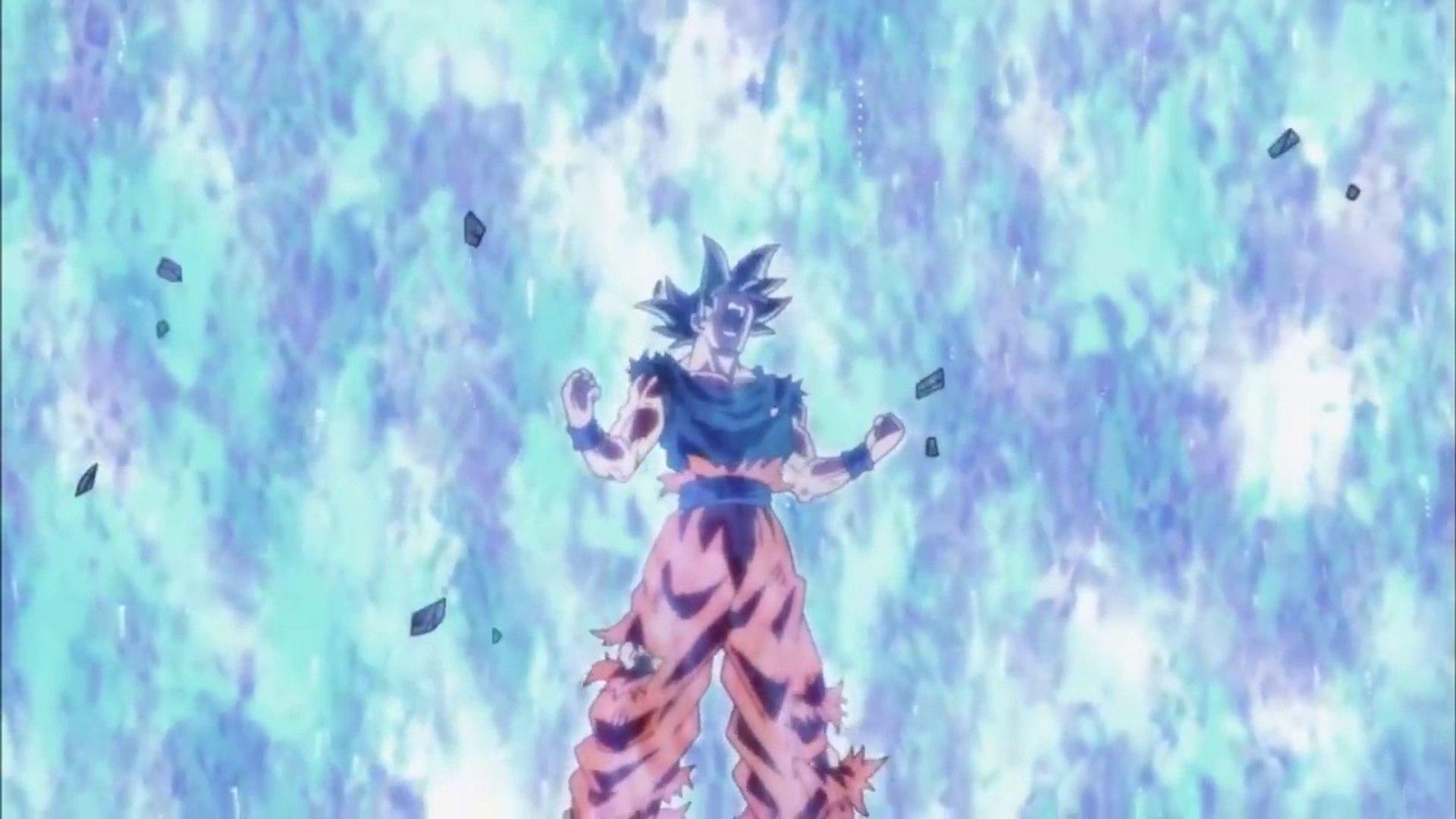 Goku Mastered Ultra Instinct Vs Jiren Video Dailymotion