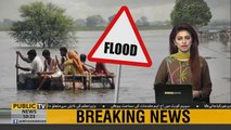 Pakistan on flood alert as India releases water in river chenab,Ravi and Sutlej