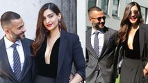 Sonam Kapoor & Anand Ahuja look super stylish at Giorgio Armani's Fashion Show in Milan | FilmiBeat