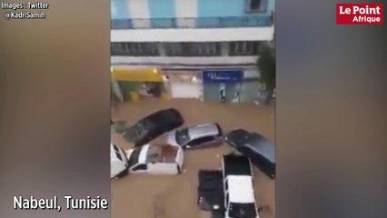 Tunisie : le Nord-Est ravagé par des pluies diluviennes