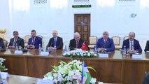 - TBMM Başkanı Yıldırım, Özbekistan temaslarına devam ediyor- TBMM Başkanı Binali Yıldırım  Bizim kardeşliğimiz geçmişten gelen ,tarihin derinliklerinde gelen bir kardeşliktir