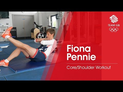 Fiona Pennie's Core/Shoulder workout | Workout Wednesday