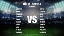 Football: Italie rencontre -série A