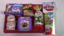 [CHOCOLAT] Gourmandises de Pâques Kinder, Lindt, Milka - Miam Food unboxing easter eggs