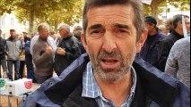 Manifestations du monde agricole à Villefranche-sur-Saône