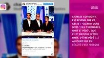 Jean-Michel Aphatie répond à Charles Consigny sur Twitter, après ses propos choquants dans ONPC