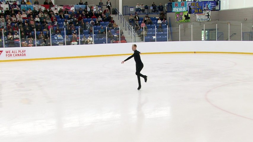 #ACI18 Men's Free:  Conor STAKELUM