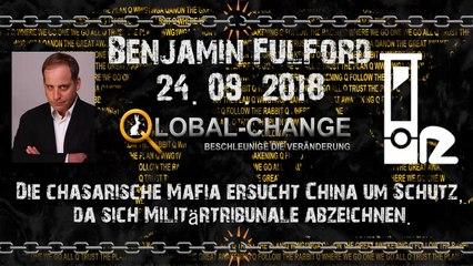 Wochenbericht Benjamin Fulford 24.09.2018 deutsch