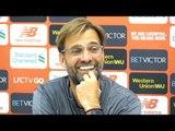 Jurgen Klopp Full Pre-Match Press Conference - Liverpool v Southampton - Premier League