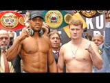 Anthony Joshua vs. Alexander Povetkin FULL WEIGH IN & FINAL FACE OFF | Matchroom Boxing