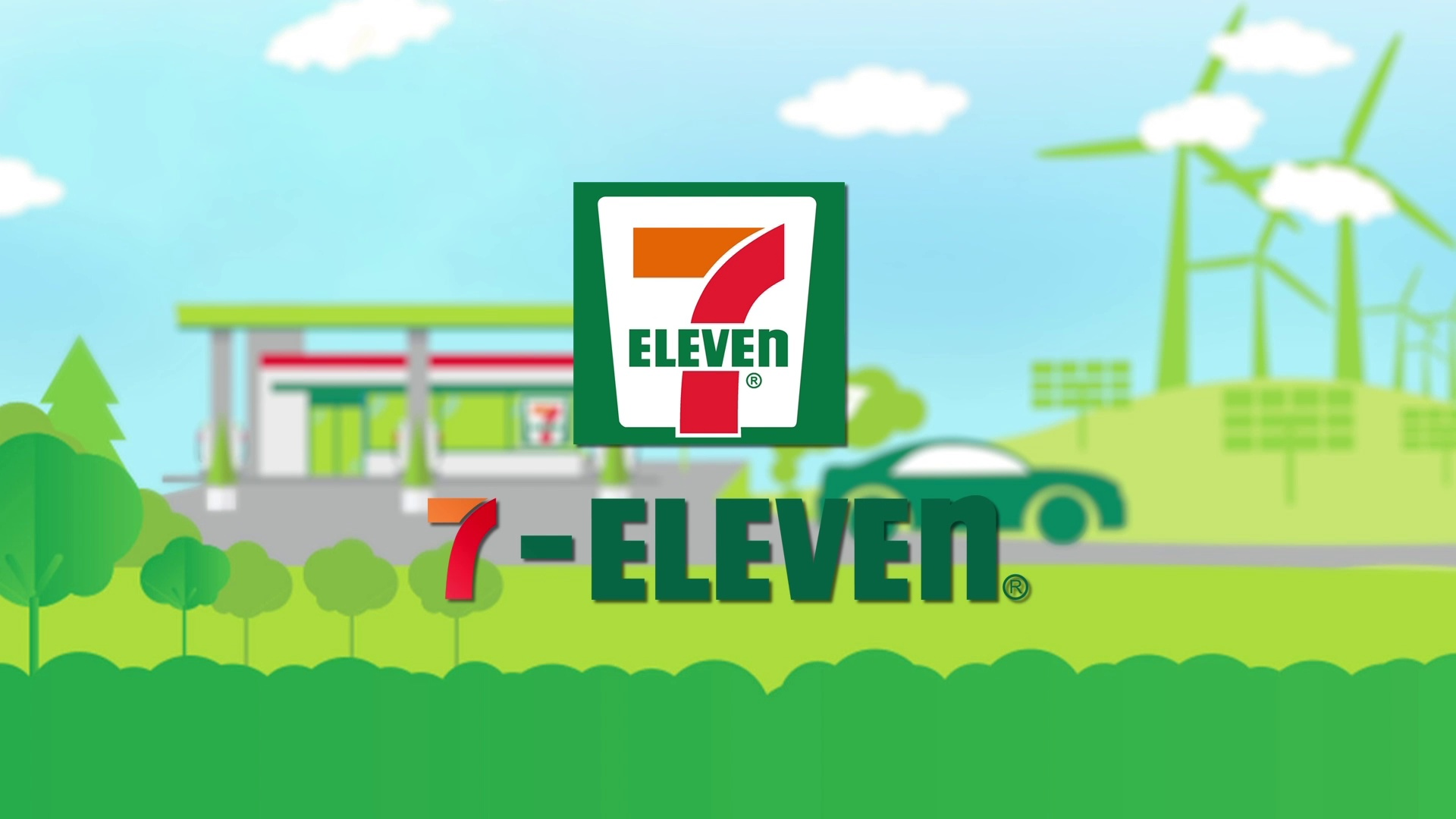 #31 7 Eleven Logo Plays With Cup of Coffee Parody