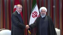 Cumhurbaşkanı Erdoğan, İran Cumhurbaşkanı Ruhani ile Görüştü - New