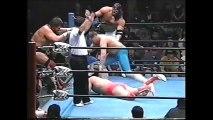Kenta Kobashi/Mitsuharu Misawa/Kentaro Shiga vs Richard Slinger/Steve Williams/The Lacrosse (All Japan June 1st, 1997)