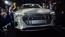 Electric goes Audi - all-electric Audi e-tron SUV unveiled - On stage
