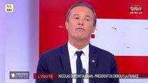 Invité : Nicolas Dupont-Aignan - Territoires d'infos (25/09/2018)