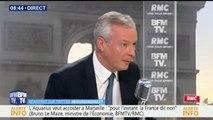 """""""Je suis favorable au bonus-malus sur les contrats-courts"""",  explique Bruno Le Maire, ministre de l'Économie et des Finances"""