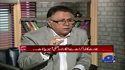 Dabang Response By Hassan Nisar On PM Imran Khan's Statement About Indian Army Chief And Modhi