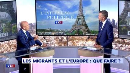 Eric Ciotti invité de la matinale de LCI - 25/09/2018