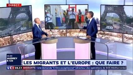 Je m'oppose a l'accostage de l'Aquarius à Marseille - Eric Ciotti LCI 25/09/2018