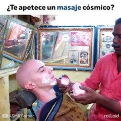 Ventajas de ser Calvo: Recibir un masaje cósmico by rolloid