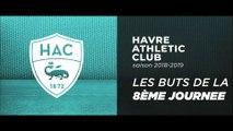 Les buts de la 8ème journée de Domino's Ligue 2