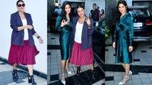 Katrina Kaif & Neha Dhupia spotted in style at No Filter Neha Season 3 shooting   FilmiBeat