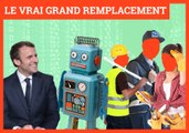 Intelligence artificielle et chômage réel