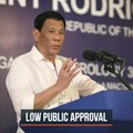 Duterte's approval, trust ratings fall to lowest – Pulse Asia