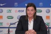 Equipe de France Féminine  : la conférence de presse de Corinne Diacre