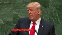 """""""Les dirigeants iraniens sèment chaos, mort et destruction"""" lance Donald Trump à l'assemblée générale de l'ONU :"""