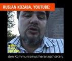 Ruslan Kozaba: Die Juden haben Stalin und Hitler gezüchtet - der Holocaust war die Strafe dafür