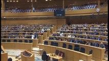 El Senado reprueba a la ministra de Justicia Dolores Delgado con los votos de a favor de PP y C's