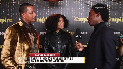 We're just one day away from the @EmpireFOX premiere, and we caught up with @TherealTaraji and @terrencehoward on the gold carpet! Watch #PageSixTV to find out what Taraji told us about her upcoming wedding!