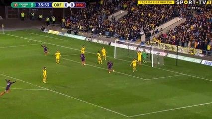 FC Oxford United 0-3 FC Manchester City   ( EFL Cu...