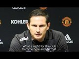 Frank Lampard Hails 'Special' Derby Display In Win Over Manchester United