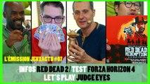 L'Émission JEUXACTU #07 Red Dead 2 à Tokyo et Test Forza Horizon 4 !