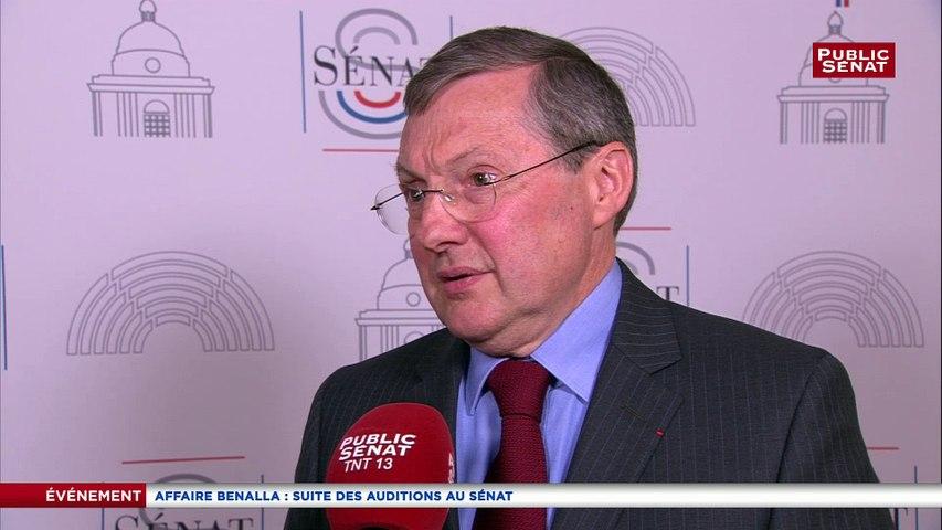La commission d'enquête du Sénat  n'auditionnera pas une seconde fois Benalla