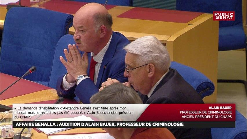 Délivrance d'une carte professionnelle de sécurité: «l'interdit absolu ne s'appliquait pas au cas d'Alexandre Benalla » affirme Alain Bauer