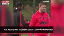 Paul Pogba et José Mourinho : Grosses tensions à l'entraînement (vidéo)