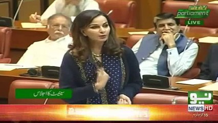 None tax filers are being awarded - Sherry Rehman criticizes PTI in Senate