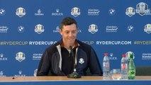 Golf - Ryder Cup - La conférence de presse de Rory McIlroy