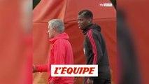 La discussion entre José Mourinho et Paul Pogba sans langue de bois - Foot - WTF