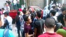 فيديو.. تجمع لطلاب الثانوية أمام مركز للدروس الخصوصية في روض الفرج